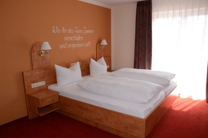 Doppelzimmer Standard mit Balkon, Seeblick Obing